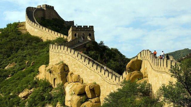 Живописный участок Великой Китайской стены - Бадалин