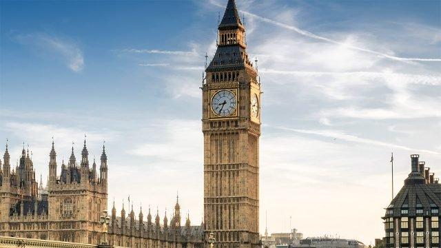 Часовая башня Вестминстерского дворца