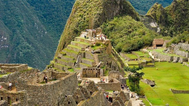 Город инков наполнен туристами