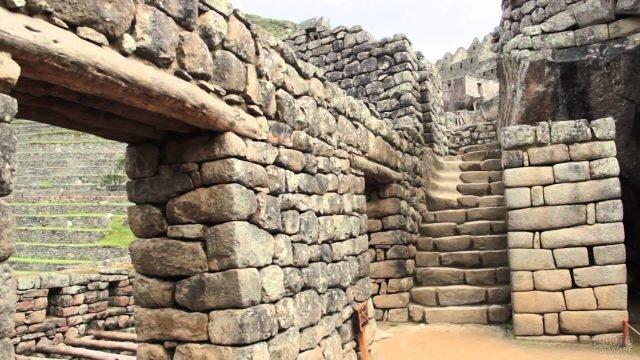Каменные перекрытия и кладки в городе инков