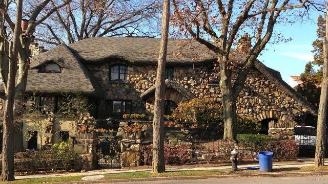 Пряничный домик в Бруклине