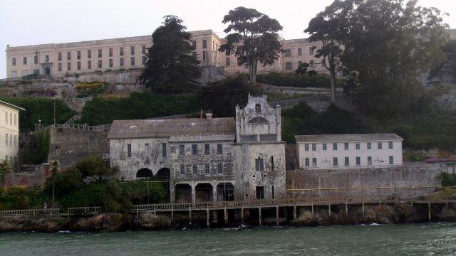 Причал тюрьмы Алькатрас