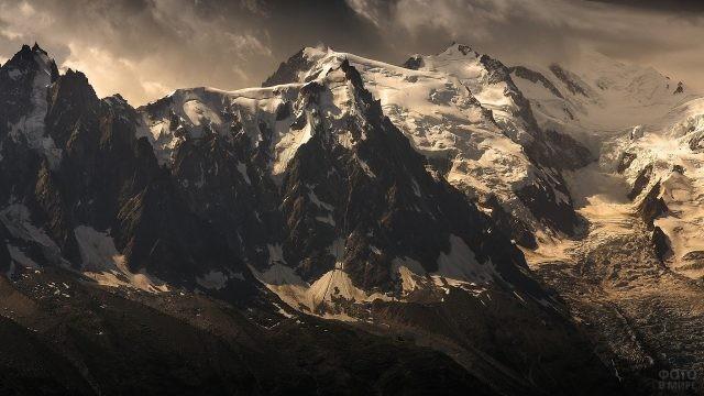 Вечерний пейзаж Эвереста