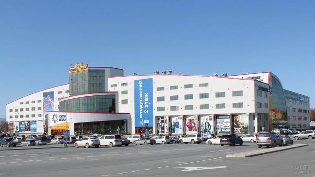 Торговый центр в Южно-Сахалинске