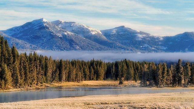 Просторы долины Хайден с видом на горы