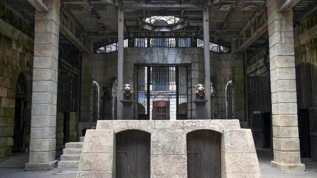 Вход во внутренний двор Форта Боярд