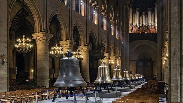 Колокола в соборе Парижской Богоматери