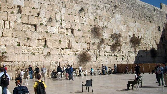 Руины западной стены Второго Римского Храма - Стены Плача