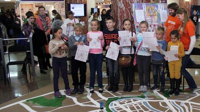 Школьники на конкурсе факультета искусств МГУ