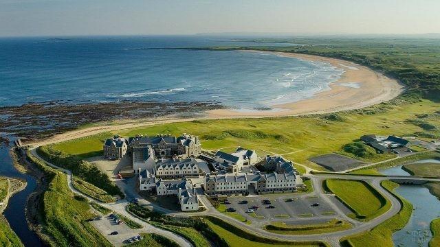 Отель и гольф-клуб Дональда Трампа в Ирландии