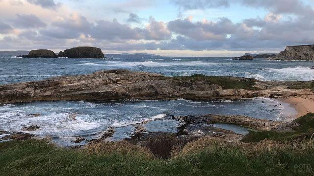 Скалистые берега Ирландии