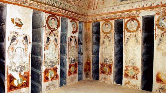 Фрески гипогея Трёх братьев в Пальмире