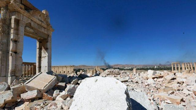 Пальмира после войны в Сирии