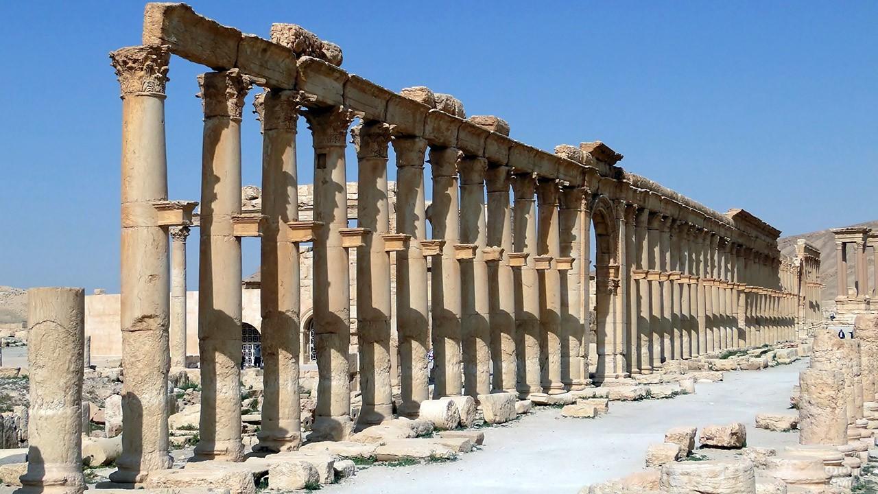 Улица колонн в Пальмире