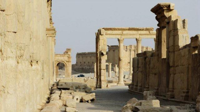 Улица в античной Пальмире