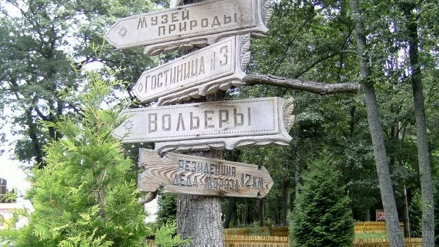 Указатели для туристов