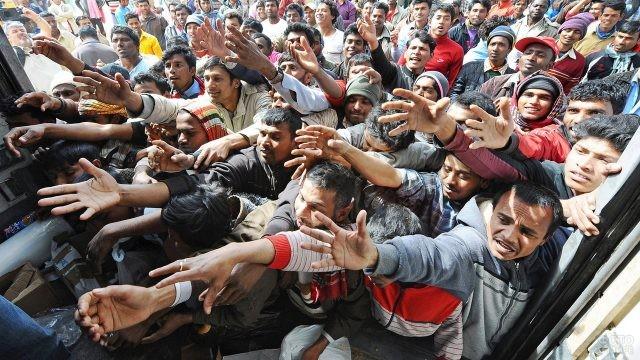 Мигранты-гастарбайтеры в Европе