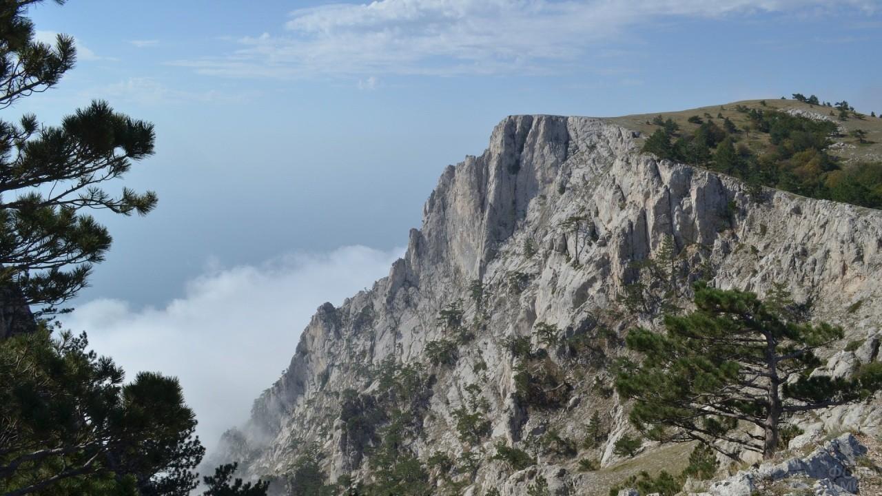 Зубчатая форма горы Ай-Петри