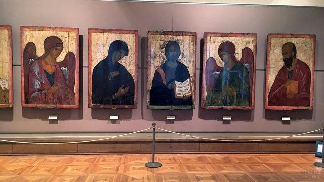 Иконы в экспозиции Третьяковской галереи