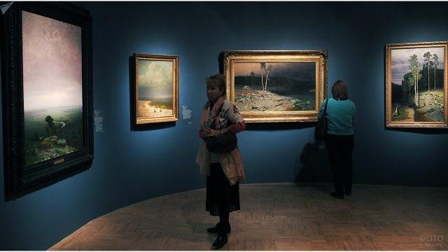 Выставка работ Куинджи в Третьяковской галерее