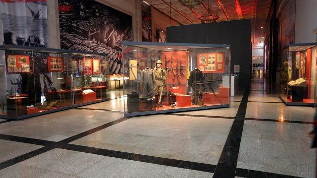 Экспозиция Музея Великой Отечественной Войны