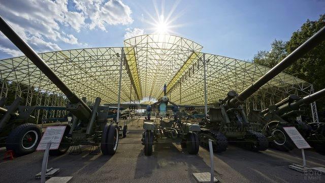 Музей военной техники на Поклонной горе в Москве