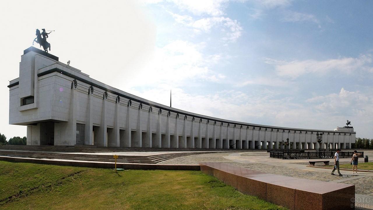 Панорама Центрального музея ВОВ на Поклонной горе