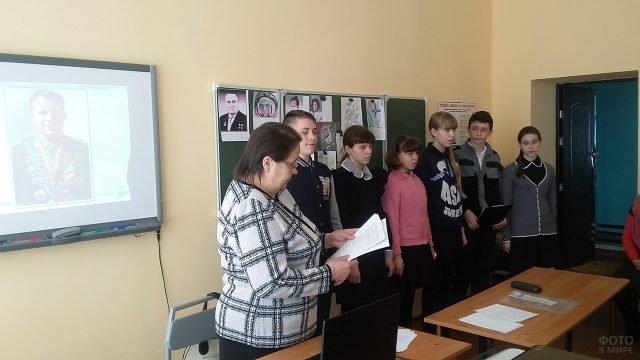 День космонавтики в школе республики Мордовия