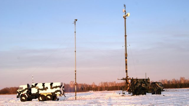 Комплексные аппараты связи КАС радиозавода имени Попова