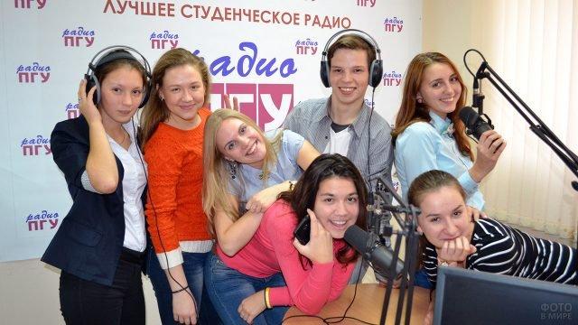 Пермские студенты в День Радио на радиоточке родного ВУЗа