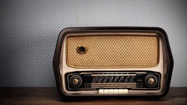 Радиоприёмник в стиле ретро
