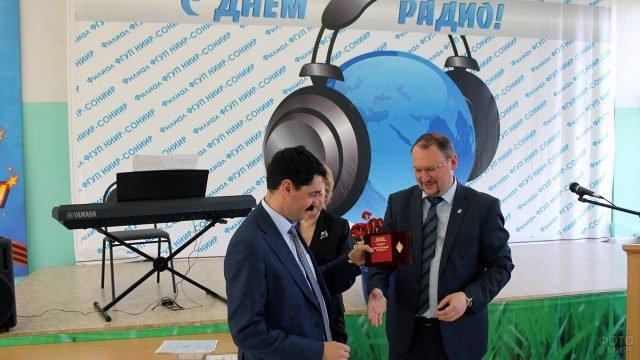 Вручение министерских наград в День Радио в Севастополе