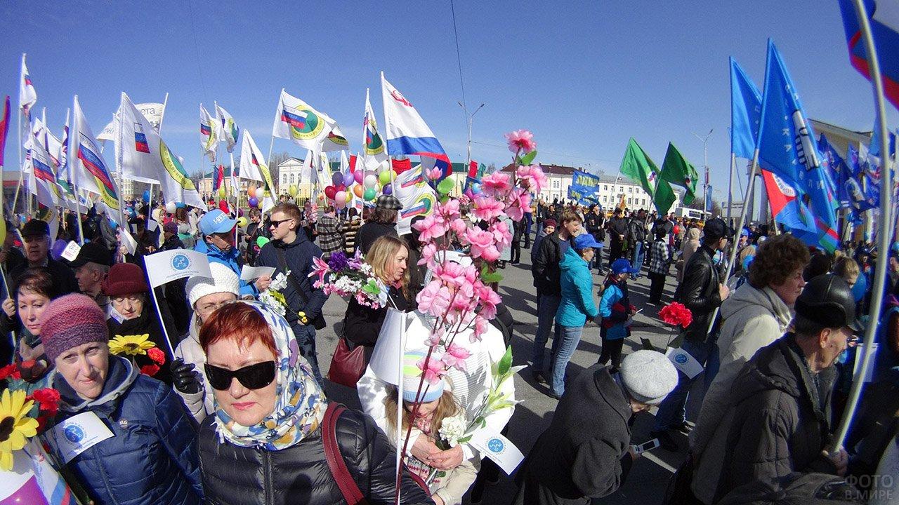 Первомай в Петрозаводске