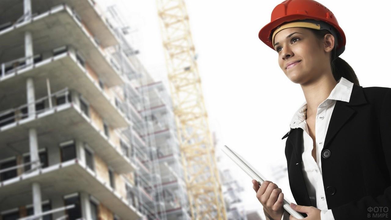 Девушка архитектор за работой модельный бизнес городец