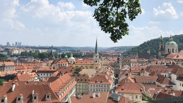Панорама квартала Йозефов в Праге