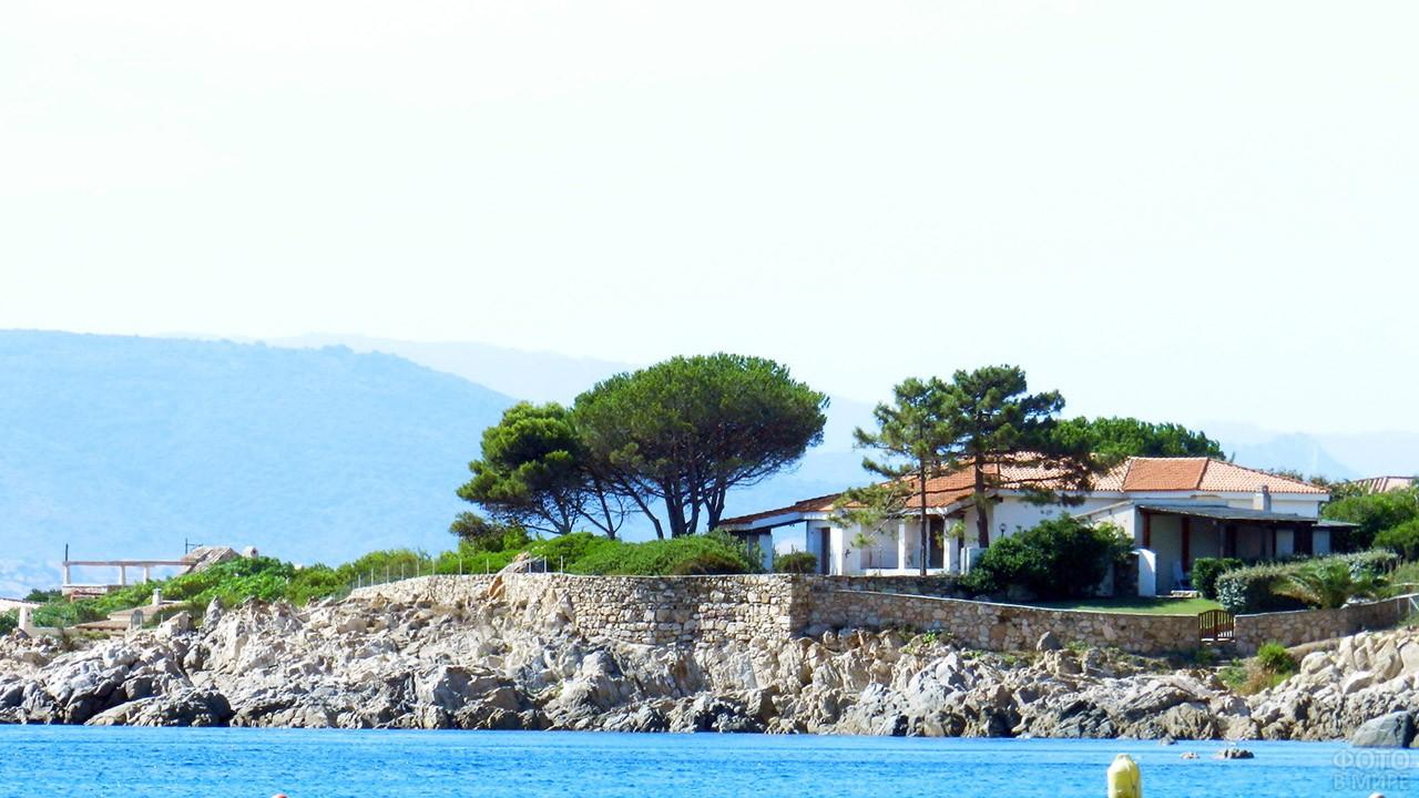Гостевая вилла на побережье Сардинии