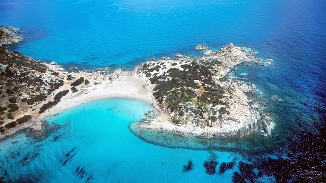 Пляж Вилласимиус на Сардинии