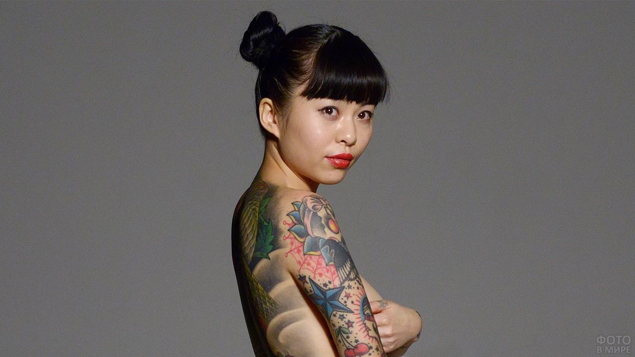 Татуированная китаянка