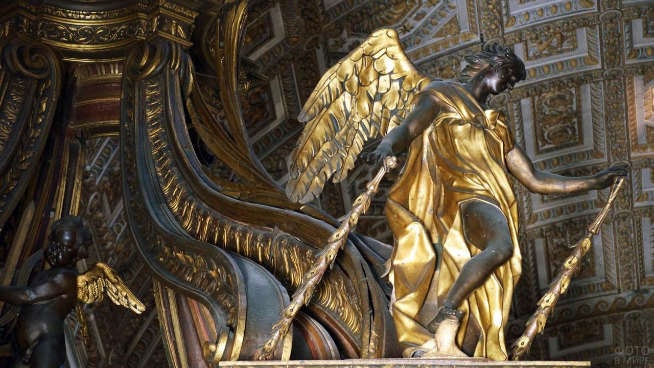 Ангелы в Базилике Святого Петра