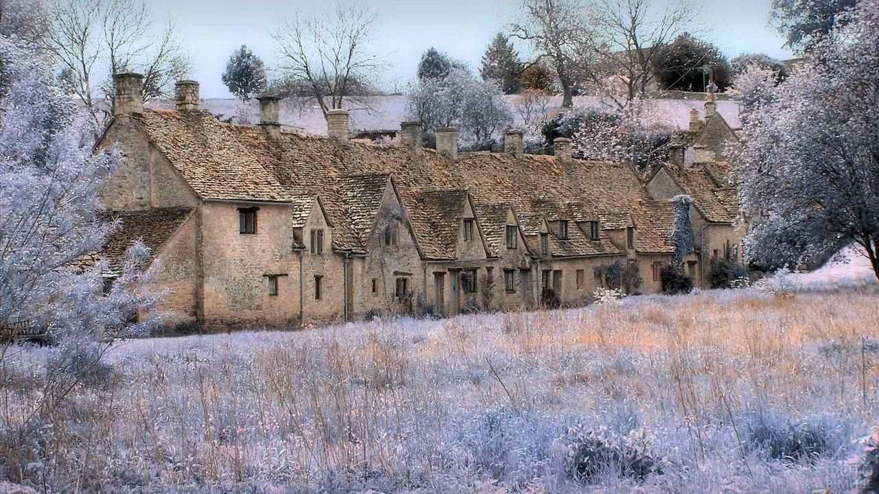 Старый дом в английской деревне