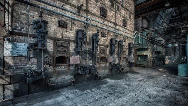 Печи старой фабрики