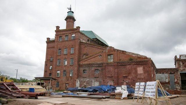 Старый пивоваренный завод в Казани