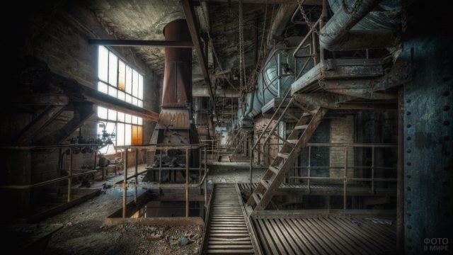 Старый завод в Донецке
