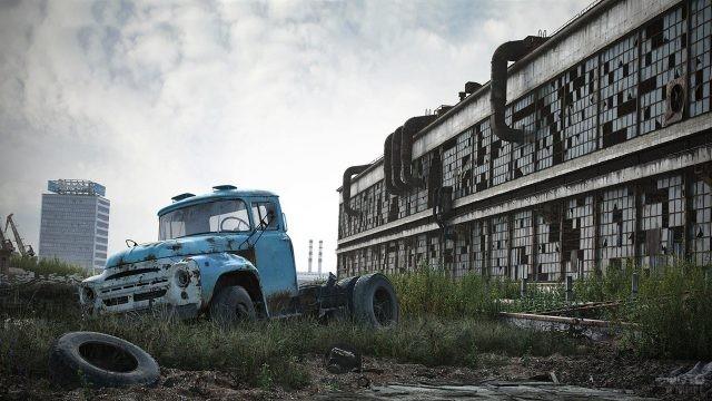 Заброшенный завод ЗИЛ им. Лихачёва