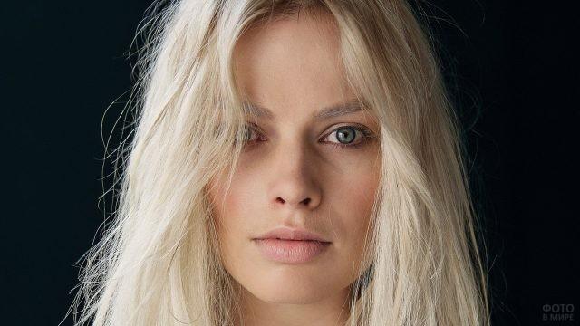 Глаза актрисы Марго Робби