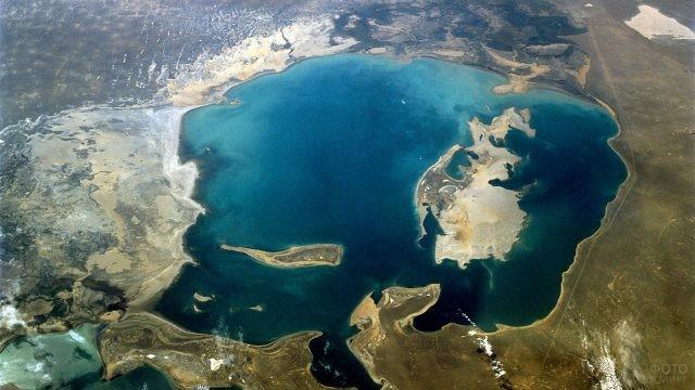 Архивное фото Аральского моря в 1960 году