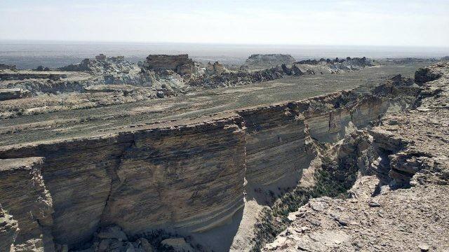 Бывший берег озера Арал