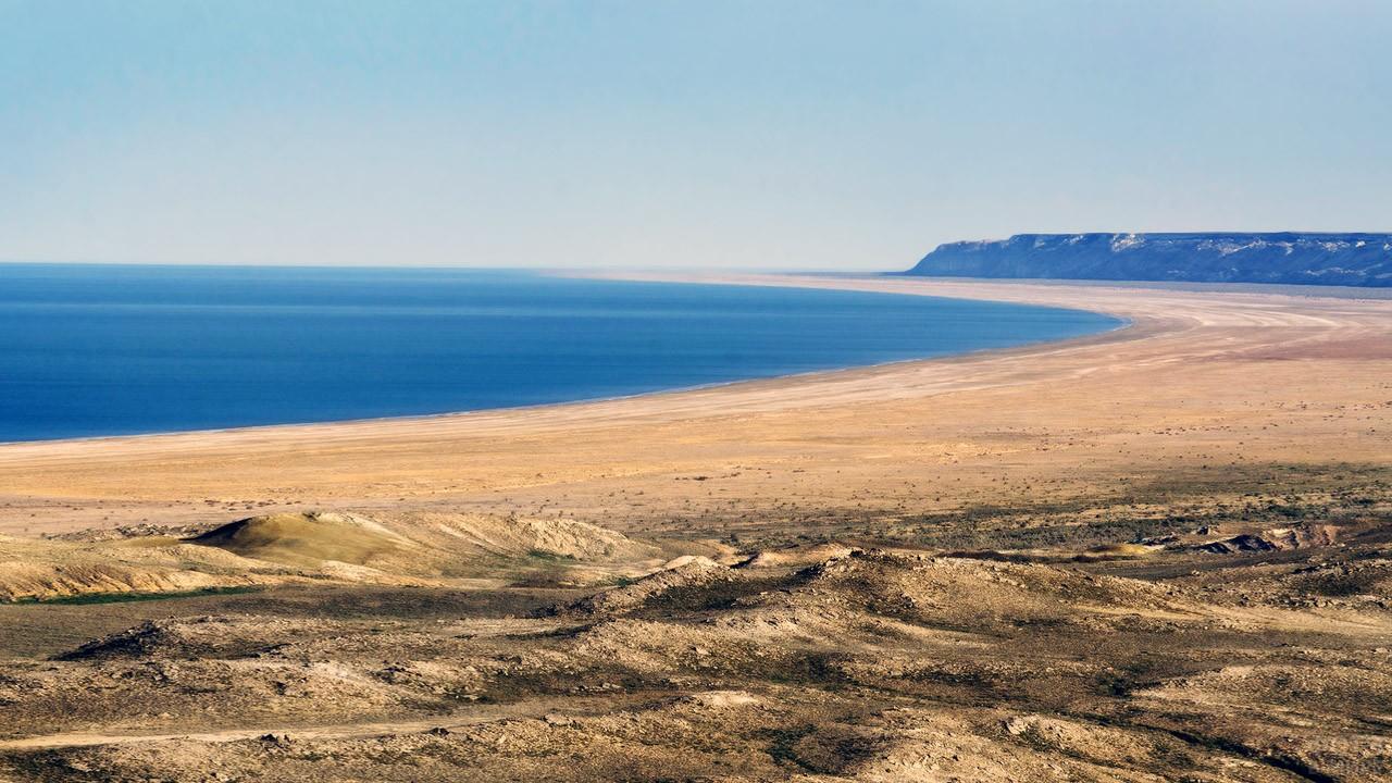 Панорама Аральского моря