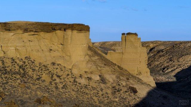Плато Устюрт на берегу бывшего Аральского моря