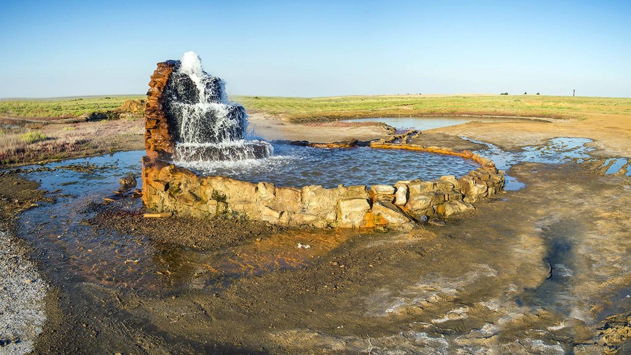 Радоновые источники на дне высохшего Аральского моря
